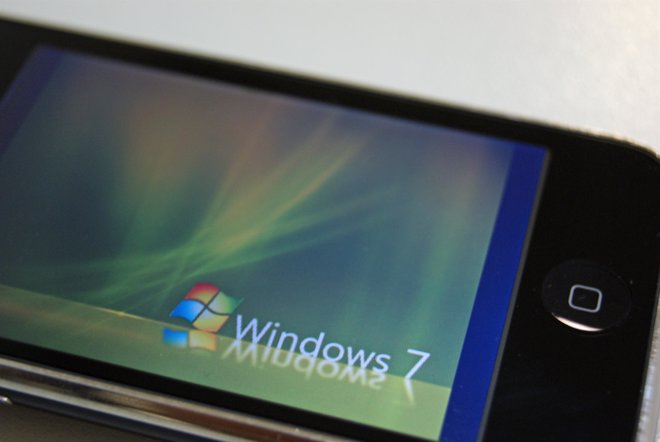 Windows 7 en iPhone