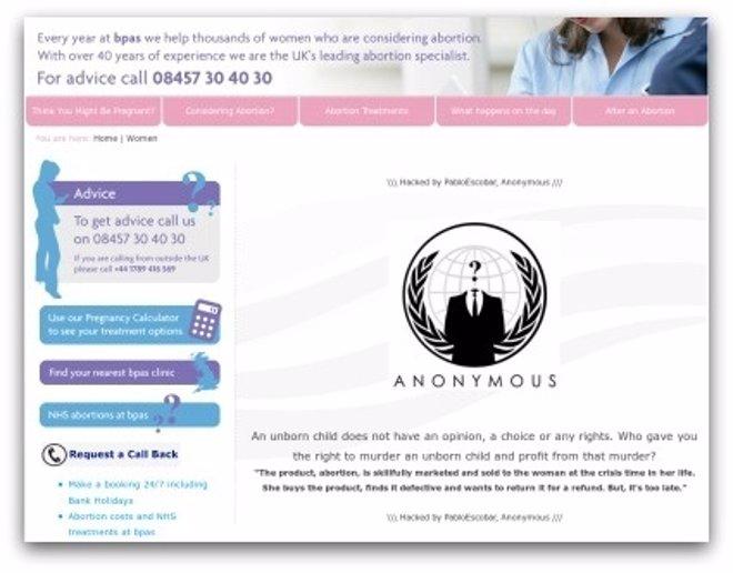 Página BPAS Hackeada Por Anonymous
