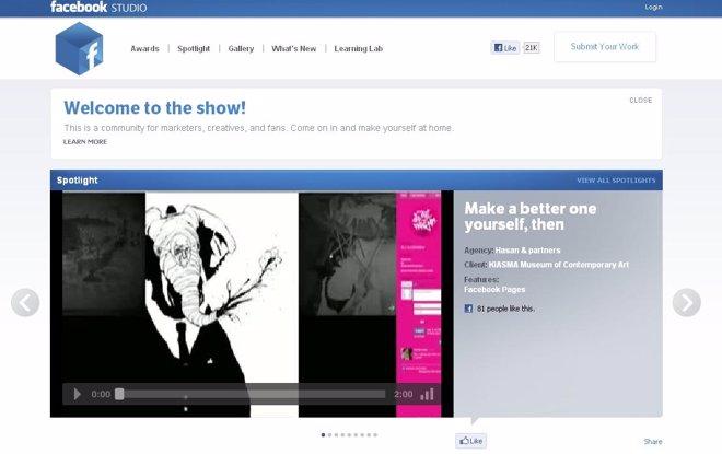 Nueva Herramienta 'Facebook Studio'