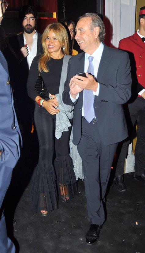 Pedro Trapote y Begoña García Vaquero en la gran fiesta de Cartier por Diana Garbacauskiene