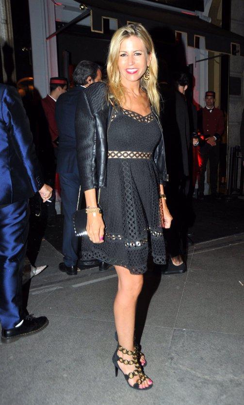 Patricia Cerezo en la gran fiesta de Cartier por Diana Garbacauskiene