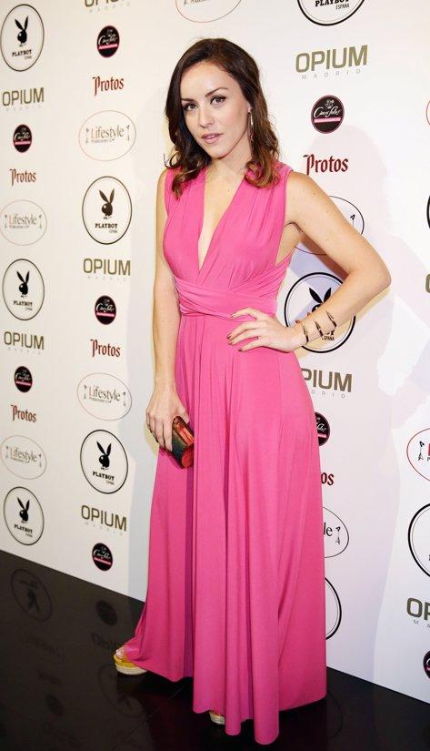 Claudia Molina en la fiesta Playboy por Josefina Blanco