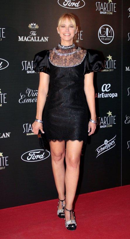 Valeria Mazza en la fiesta Starlite por Sergio Jurado