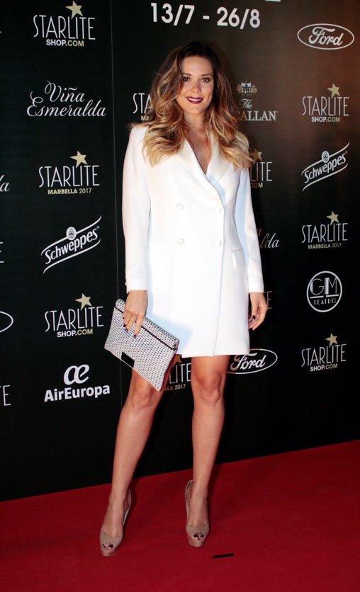 Lorena Gómez en la fiesta Starlite por Sergio Jurado