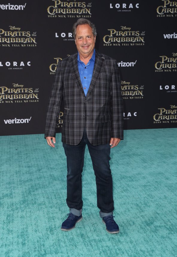 Actor Jon Lovitz en la premiere de Piratas del Caribe La Venganza de Salazar en California. Getty Images