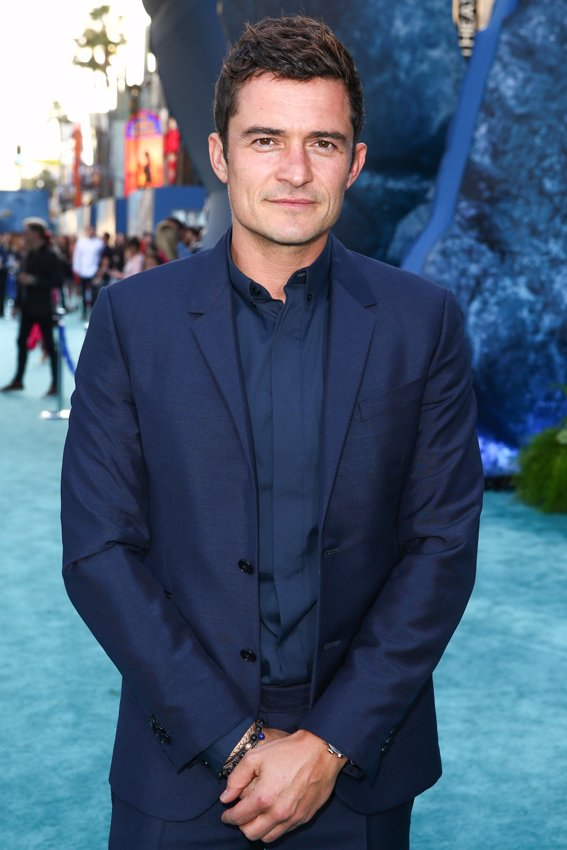 El actor Orlando Bloom en la premiere de Piratas del Caribe La Venganza de Salazar en California. Getty Images
