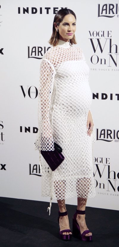 Eugenia Silva  fiesta Vogue por Europa press