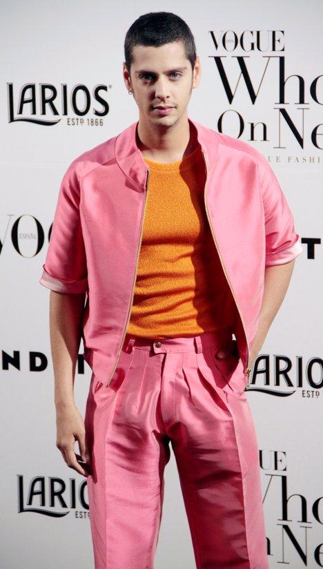 Eduardo Casanova  fiesta Vogue por Europa press