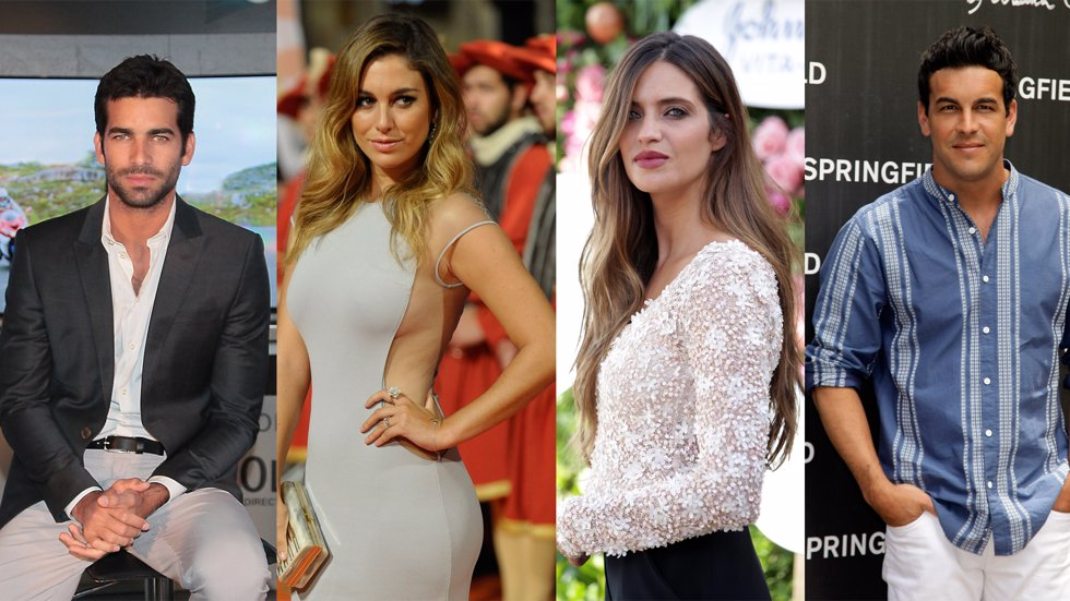 RUBEN CORTADA, BLANCA SUÁREZ, SARA CARBONERO, MARIO CASAS