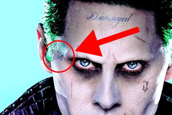 Escuadr 243 N Suicida Descifrados Los 16 Tatuajes Del Joker
