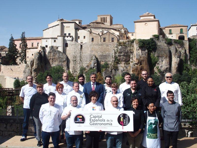 Restauradores y cocineros apoyan la candidatura de cuenca - Restauradores granada ...