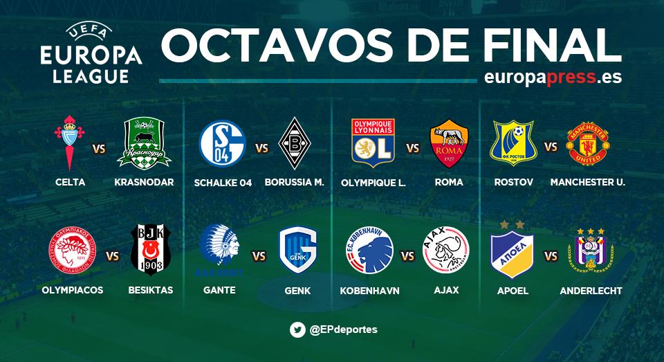Octavos Europa League