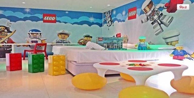Lego. 21 habitaciones temáticas