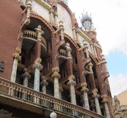 El Palau de la Música genera un impacte de 96,83 milions a l'economia espanyola (EUROPA PRESS)
