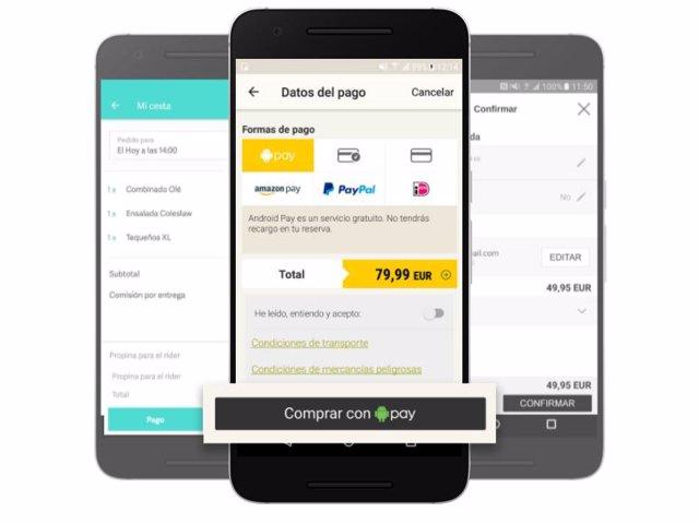 Así funciona Android Pay, la aplicación de pago por móvil de