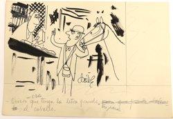 La BNE rep l'arxiu gràfic de l'obra de l'humorista i caricaturista Dátile (BIBLIOTECA NACIONAL DE ESPAÑA)