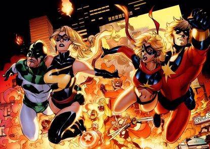 ¿Aparecerá Captain Marvel en Vengadores: Infinity War? (MARVEL COMICS)