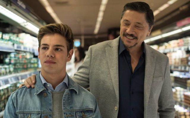 Carlos Bardem y Gabby Castillo en 'Traición'