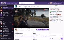 Twitch llança la seva aplicació d'escriptori amb videotrucades de fins a cinc persones (TWITCH)