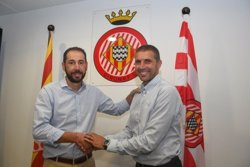 Pablo Machín renova com a entrenador del Girona FC fins al 2019 (GIRONA CF)
