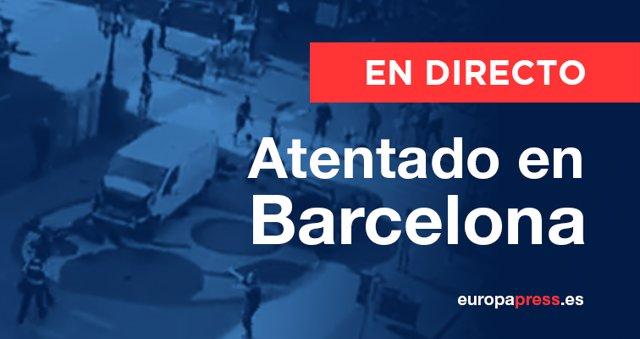 Atropello en Barcelona, directo