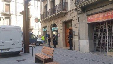 Escorcollen un domicili al centre de Ripoll (Girona) (CEDIDA/AM)