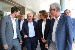 El conseller Comín i la ministra Montserrat visiten els ferits de l'atemptat de Cambrils i un l'explosió d'Alcanar (ACN)