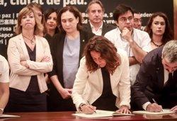 Conesa (Diputació de Barcelona) trasllada les condolences dels seus 310 municipis (DIPUTACIÓ DE BARCELONA/SERGIRAMOS)