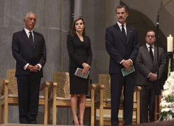 Els Reis diuen que han sentit i compartit el dolor de Barcelona i Cambrils (CASA REAL )