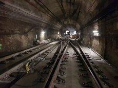 Les segones obres de la línia 3 del Metro, entre Lesseps i Vall d'Hebron, començaran aquest dimarts (@TMBINFO)