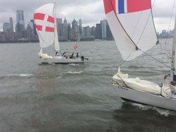 El CN Costa Brava-Vela Palamós acaba quart en l'International Yacht Club Challenge de Nova York (C. PALOMARES)