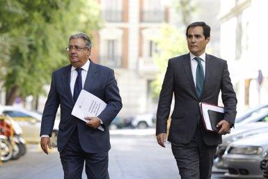 Zoido anima a signar el pacte antiterrorista perquè aparcar les diferències és la millor resposta (Europa Press)