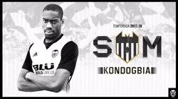 Kondogbia arriba al València cedit per l'Inter amb opció de compra a final de temporada (VALENCIA CF)