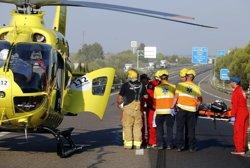 ACTUALIZACIÓ:Un mort, un nen crític i dos ferits greus en l'accident múltiple a l'A-2, a Lleida (ACN)