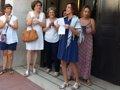 JUANA RIVAS QUEDA EN LIBERTAD PROVISIONAL: ME VOY A CASA CON MIS NINOS Y VAMOS A SEGUIR PELEANDO