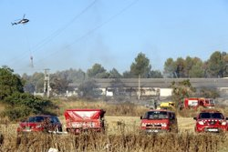 Estabilitzat el foc de Navarcles, que ha afectat unes 2,5 hectàrees de superfície (ACN)
