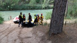 Localitzen el cos del menor desaparegut en el riu Cabriel (València) (CEDIDA)