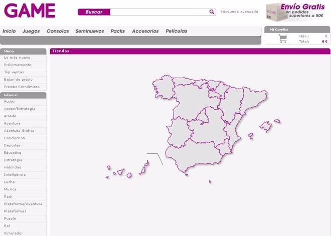 Página Web De Game España