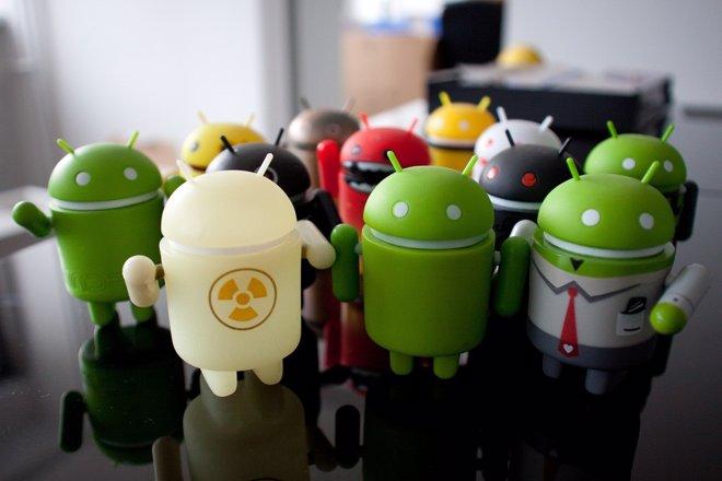 Muñecos Android