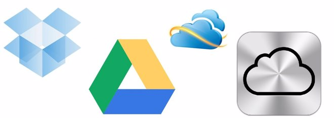 Skydrive, Google Drive, Icloud O Dropbox