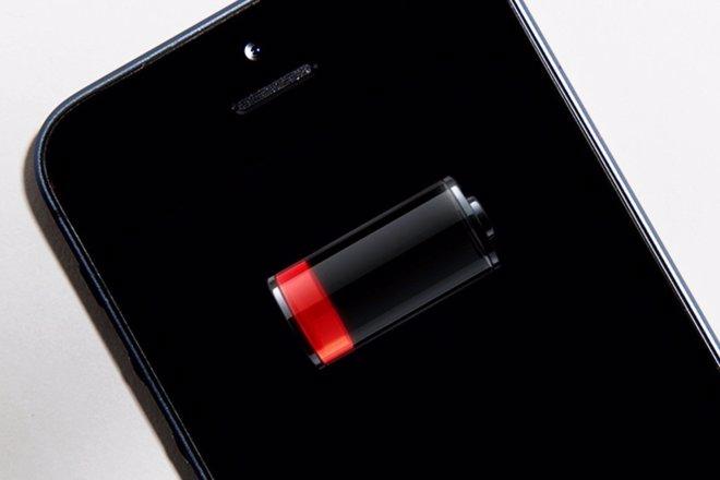 Móvil batería energía