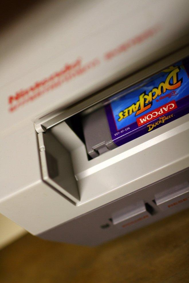Consola de videojuegos NES de Nintendo