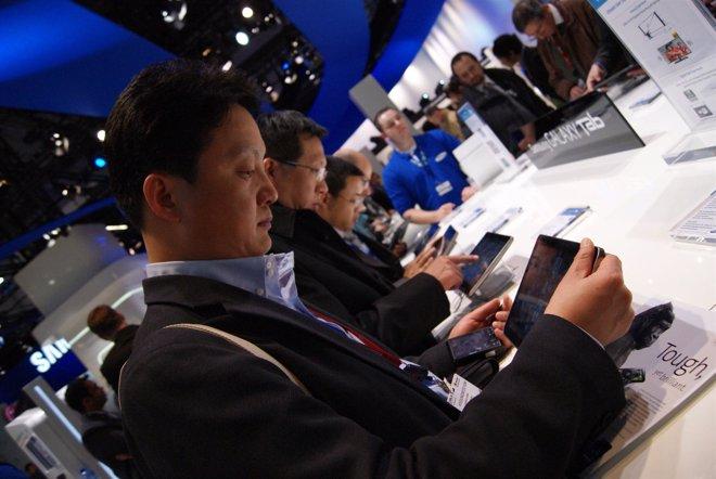 Tablet Galaxy Tab En El MWC 2011