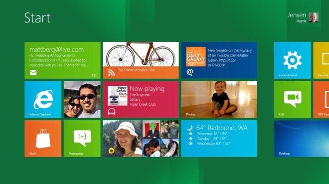 Menú De Inicio En Windows 8 Por Microsoft
